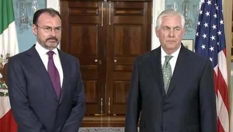 Secretary Tillerson meets Mexico Foreign Secretary Videgaray Caso