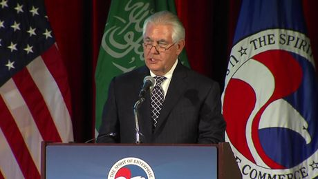 Secretary Tillerson Addresses U.S.- Saudi Arabia CEO Summit