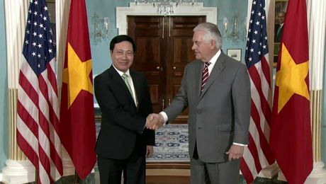 Secy Tillerson meeting with Vietnamese Deputy Prime Minister Minh