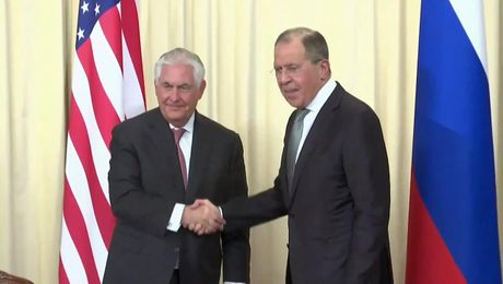 Secretary Tillerson and Russian Foreign Minister Lavrov at Joint Press Availability in Moscow