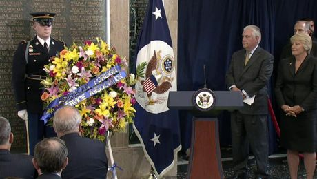 Secretary's Remarks at Foreign Affairs Day Memorial Plaque Ceremony