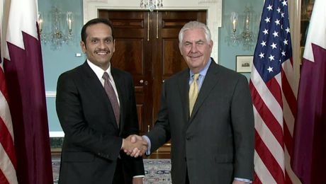 Secretary Tillerson Meets with Qatari Foreign Minister