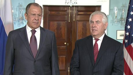 Secretary Tillerson meets with Russian Foreign Minister Lavrov