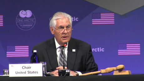 Secretary Tillerson Chairs Arctic Council Ministerial Meeting