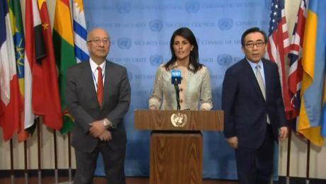 Remarks at a Joint Press Availability Before UN Security Council Consultations on DPRK
