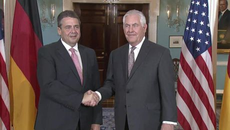 Secretary Tillerson Meets with German Foreign Minister Gabriel