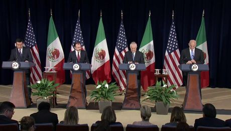 Secretary Tillerson and Secretary Kelly Hold Press Availability with Mexican Foreign Secretary Videgaray and Secretary of Government Osorio