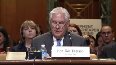 Sec. Tillerson Opening Remarks, Sen. Appropriations Comm. Foreign Ops