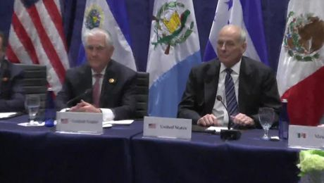Secretary Tillerson Meets with Senior Leaders at Conference on Prosperity and Security in Central America