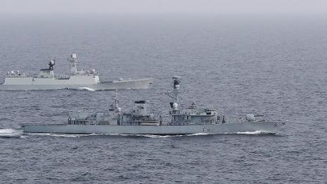Royal Navy Escorts Chinese Warship Through Channel