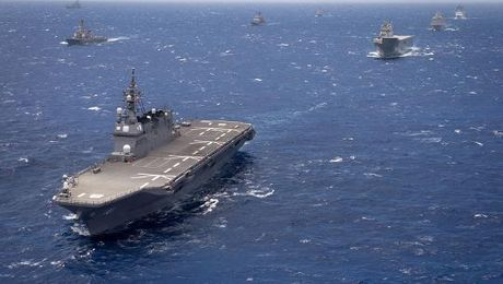 World's Largest Navy Exercise Draws To Close