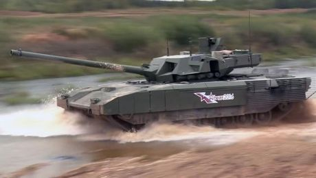 Watch: Russia Shows What Its Newest Tank Can Do