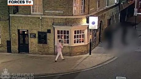 Police Release CCTV In Search For Missing RAF Serviceman