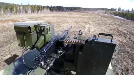 Russia Deploys Deadly Robo-Tank To Border