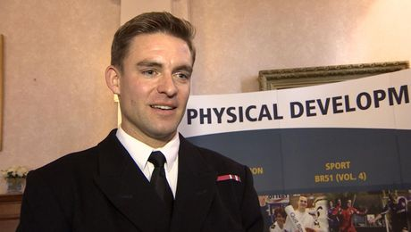 EXCLUSIVE: Royal Navy Olympic Hero 'Wants To Continue Rowing'