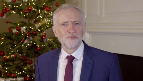 Jeremy Corbyn's Christmas Message To The Forces