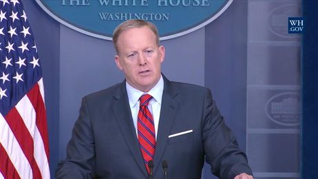 Sean Spicer's Controversial White House Press Briefing