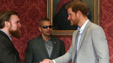 Prince Harry Brings Together Injured Veterans For Charity Challenge
