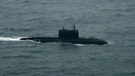 Royal Navy Escorts Russian Sub Through Channel