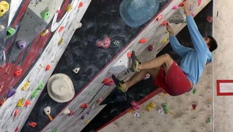 Reach The Top: Forces Climbers Take On RAF Championships