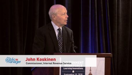 John Koskinen Government Workforce 2015