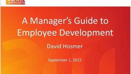 A Manager's Guide to Employee Development