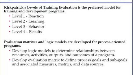 Program Evaluation at the NASA Goddard Space Flight Center