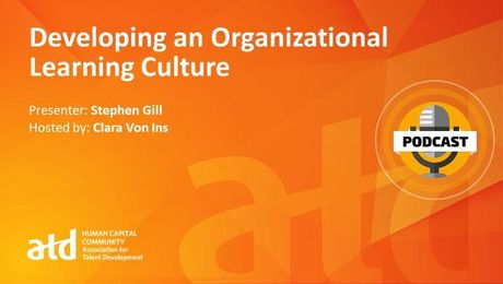 Developing an Organizational Learning Culture