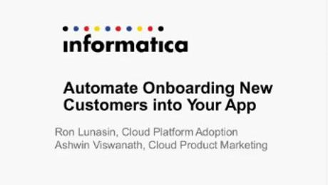 Automate Onboarding New Customers into Your App