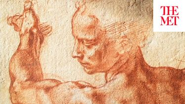 """Thinking Aloud"": Curator Carmen Bambach on a Drawing for Michelangelo's Sistine Chapel"