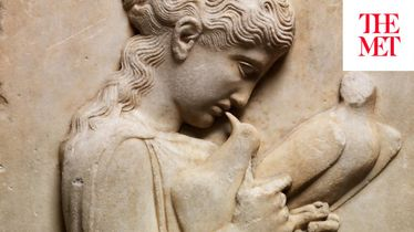 THE ARTIST PROJECT: Adam Fuss on a Marble Grave Stele of a Little Girl