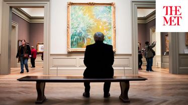 "THE ARTIST PROJECT: George Condo on Claude Monet's ""The Path through the Irises"""