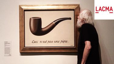 John Baldessari on René Magritte
