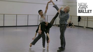 Behind the Scenes with NYCB's Ballet Master in Chief Peter Martins