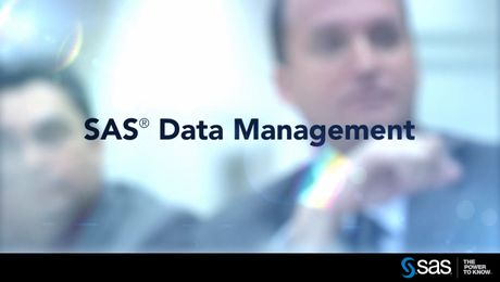 SAS Data Management Transforms Data into a Corporate Asset