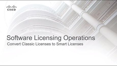 Convert Classic Licenses to Smart Licenses
