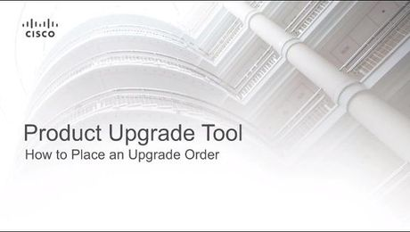 Product Upgrade Tool – Place an Upgrade Order