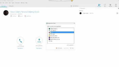 How to Share and Present using Cisco WebEx