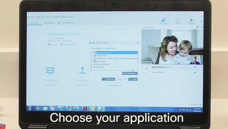 How to share an application