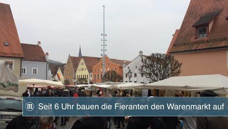 Der Rossmarkt in Berching
