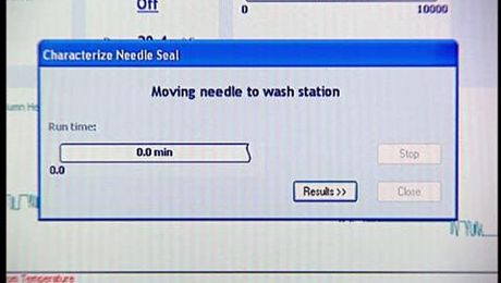 Characterizing the Needle, Seal and Loop Volumes