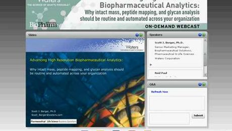 Advancing High Resolution Biopharmaceutical Analytics