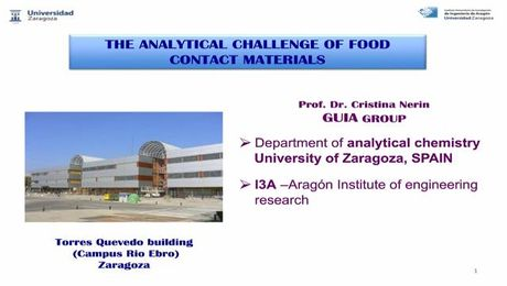 Analytical Challenges of Food Contact Materials