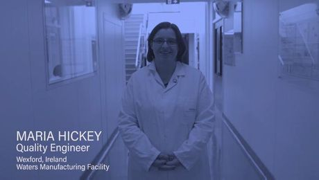 What quality means to Maria Hickey