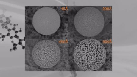 Increasing the Speed, Resolution and Flexibility of Polymer Separations with Hybrid Particle Technology