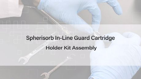 How to Properly Assemble the Waters Spherisorb In-Line Guard Cartridge Holder Kit