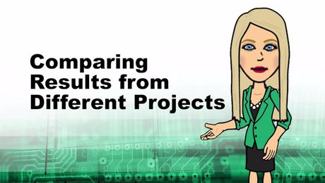 Comparing Results from Different Projects in Empower