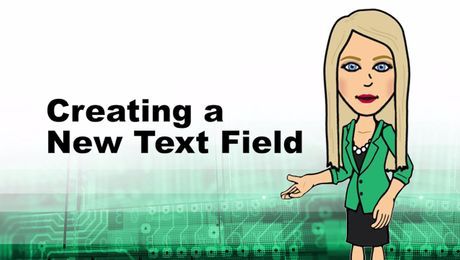 Creating a New Text Field in Empower