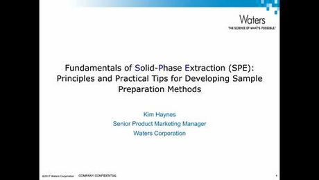 Understanding the Fundamentals of Solid Phase Extraction