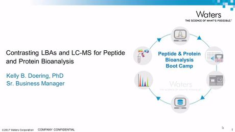 Contrasting LBAs and LC-MS for Peptide and Protein Bioanalysis